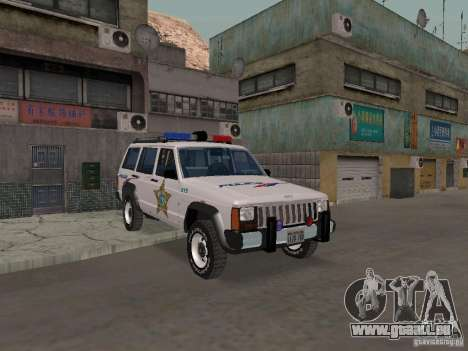 Jeep Cherokee Police 1988 für GTA San Andreas