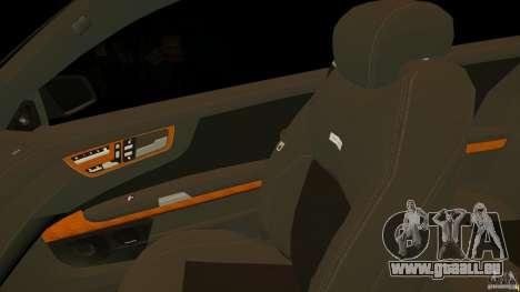Mercedes-Benz CL65 AMG Stock pour GTA 4 vue de dessus