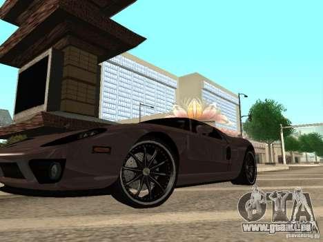 Ford GT pour GTA San Andreas vue de droite