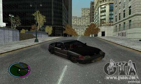 Honda CRX Tuned für GTA San Andreas rechten Ansicht