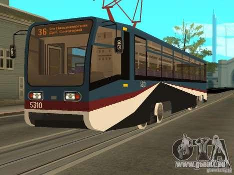 Die neue Straßenbahn für GTA San Andreas