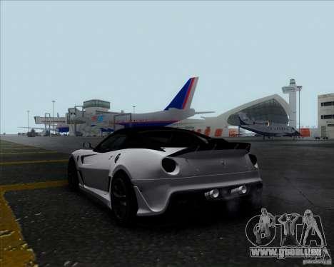 Ferrari Challenge-2009 599XX pour GTA San Andreas laissé vue
