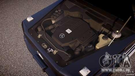 Mercedes Benz G500 (W463) 2008 für GTA 4 Unteransicht