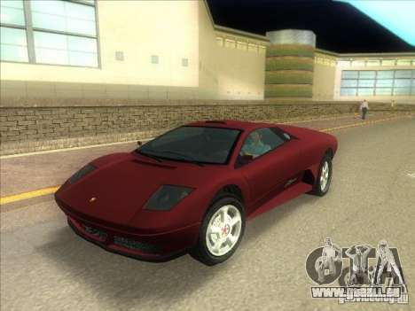 Infernus aus GTA IV für GTA Vice City
