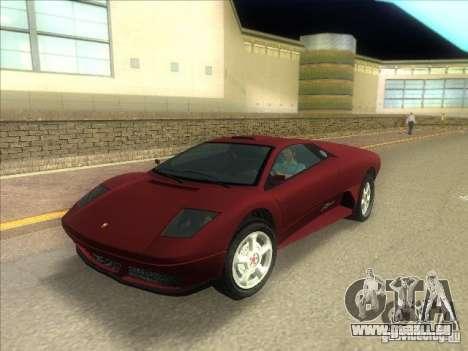 Infernus de GTA IV pour GTA Vice City