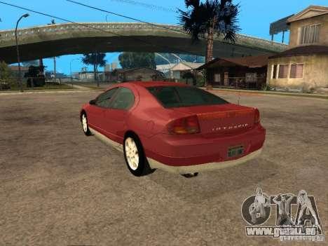 Dodge Intrepid pour GTA San Andreas laissé vue