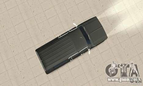 Chevrolet Suburban FBI 1986 pour GTA San Andreas vue de droite