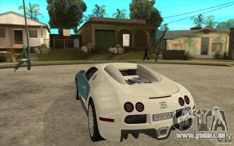 Spoiler für das Bugatti-Veyron-Finale für GTA San Andreas zweiten Screenshot
