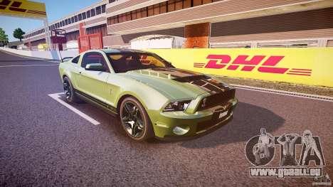 Ford Mustang Shelby GT500 2010 (Final) für GTA 4 Innenansicht