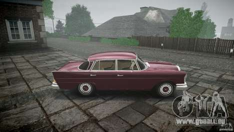Mercedes Benz W111 Final für GTA 4 linke Ansicht
