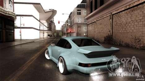 Porsche 911 Turbo RWB DS pour GTA San Andreas laissé vue