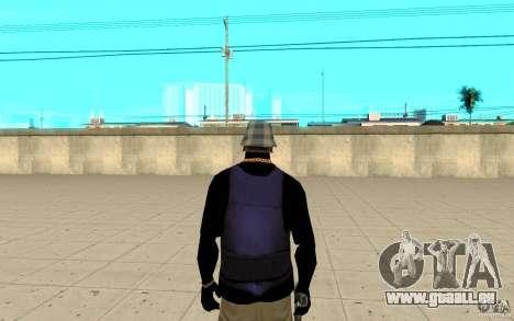 Peau de Bronik 5 pour GTA San Andreas troisième écran