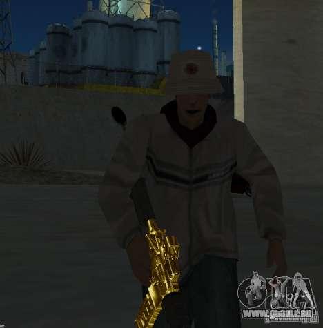[GOLD] m4 pour GTA San Andreas troisième écran