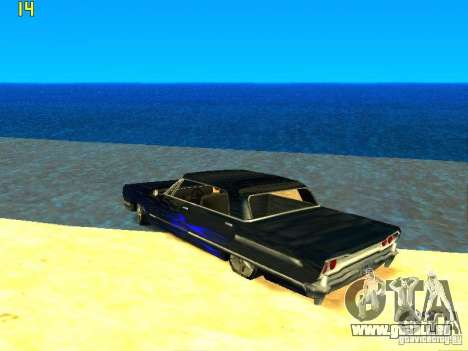 Le nouveau graphique par jeka_raper pour GTA San Andreas septième écran