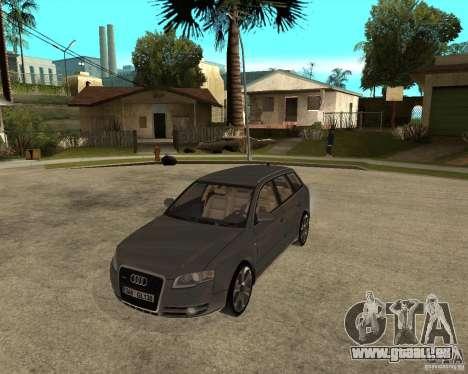 Audi A4 2005 Avant 3.2 quattro pour GTA San Andreas