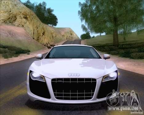 Audi R8 v10 2010 pour GTA San Andreas vue de droite