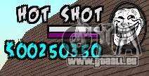 HUD by Hot Shot für GTA San Andreas