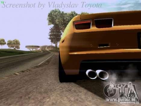 Chevrolet Camaro ZL1 2012 für GTA San Andreas Seitenansicht