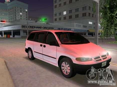 Dodge Grand Caravan für GTA Vice City