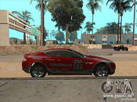 Aston Martin v8 Vantage n400 für GTA San Andreas rechten Ansicht