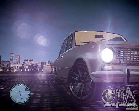 VAZ 2101 1972 Tun pour GTA 4