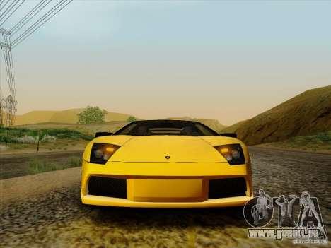 Lamborghini Murcielago LP640-4 pour GTA San Andreas vue de droite