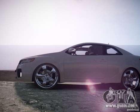 Kia Cerato Koup 2011 pour GTA 4 est un droit