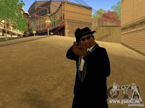 Desert Eagle MW3 pour GTA San Andreas cinquième écran