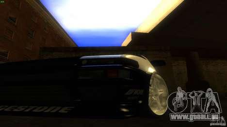 Toyota AE86 Trueno Touge Drift pour GTA San Andreas vue intérieure
