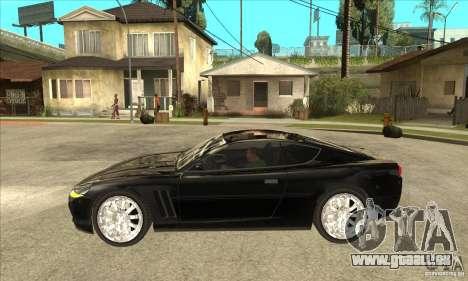 GTA IV SuperGT pour GTA San Andreas laissé vue