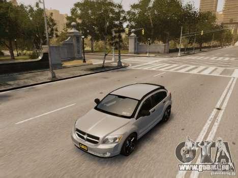 Dodge Caliber pour GTA 4 vue de dessus