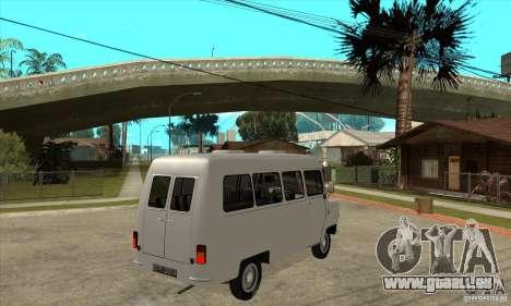FSD Nysa 522 pour GTA San Andreas vue arrière