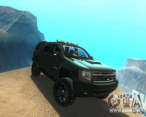 Chevrolet Suburban Crankcase Transformers 3 für GTA San Andreas rechten Ansicht
