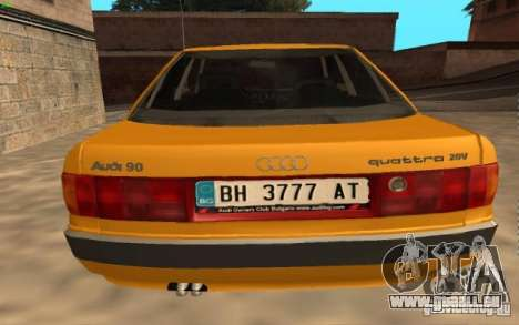 Audi 90 Quattro 20V für GTA San Andreas linke Ansicht