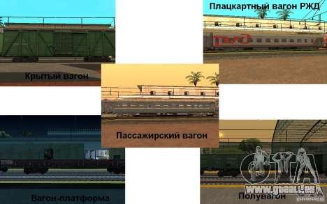 Eisenbahn mod II für GTA San Andreas zweiten Screenshot