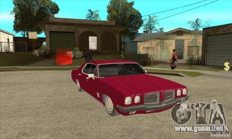 Pontiac LeMans pour GTA San Andreas vue arrière