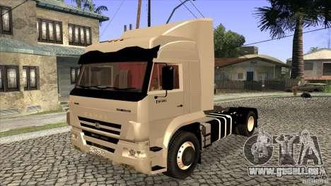 KAMAZ 5460 Euro 3420 Turbo pour GTA San Andreas vue de côté