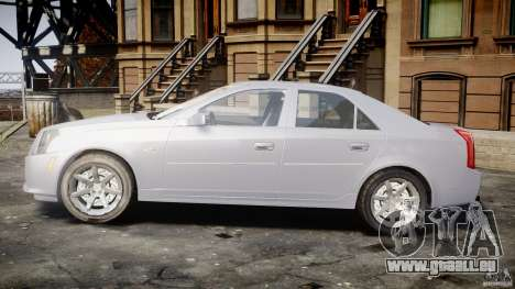 Cadillac CTS pour GTA 4 est une vue de l'intérieur