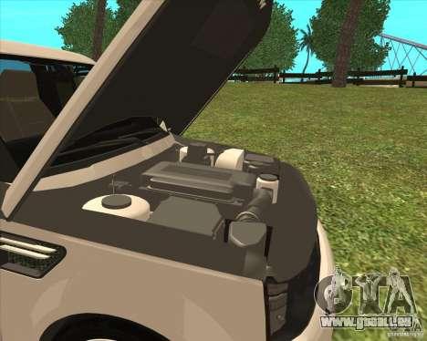 Range Rover Sport 2012 pour GTA San Andreas vue de droite
