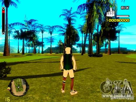 Haut Penner v5 für GTA San Andreas dritten Screenshot