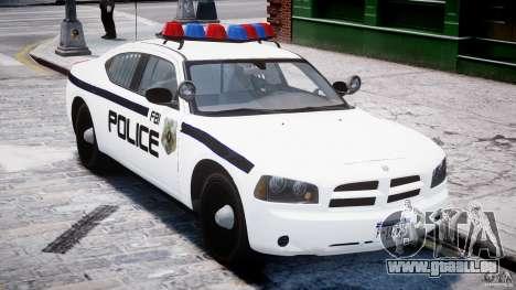 Dodge Charger FBI Police für GTA 4 Innenansicht