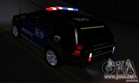 NFS Undercover Police SUV für GTA San Andreas Innenansicht