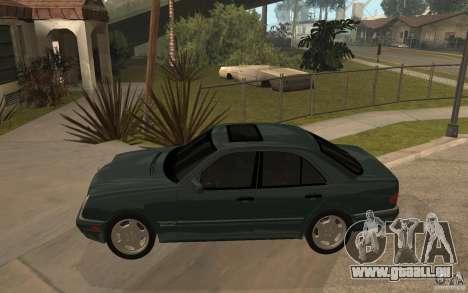 Mercedes-Benz E420 W210 1997 für GTA San Andreas linke Ansicht
