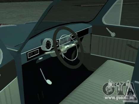 Moskvich 407 für GTA San Andreas Rückansicht