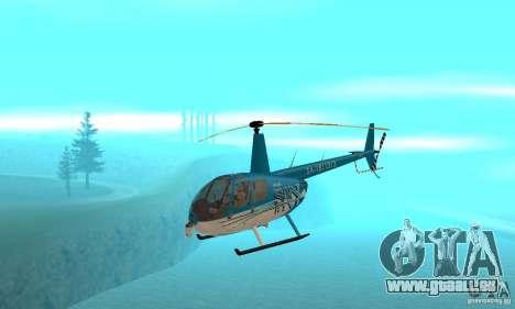 Robinson R44 Raven II-NC 1.0-TV für GTA San Andreas