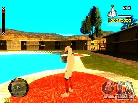 Haut Penner v9 für GTA San Andreas sechsten Screenshot