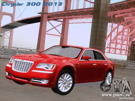Chrysler 300 Limited 2013 pour GTA San Andreas