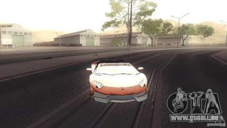 2013 Lamborghini Aventador LP700-4 Roadstar für GTA San Andreas linke Ansicht