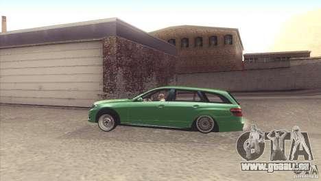 Mercedes-Benz E-Class Estate S212 für GTA San Andreas rechten Ansicht