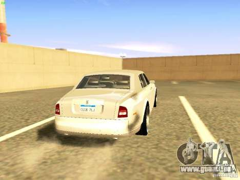 Rolls-Royce Phantom V16 für GTA San Andreas linke Ansicht